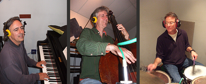Jeff Colella - piano, Randy Landas - bass, Rod Harbour - Drums